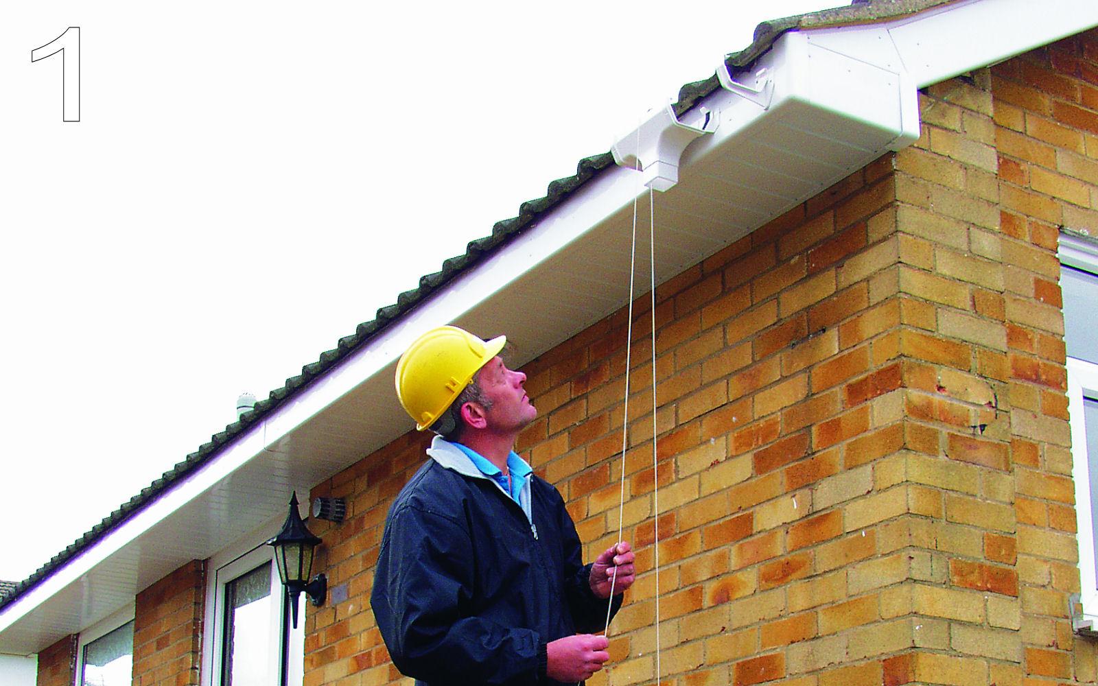 Shed Kit Gutter Installation